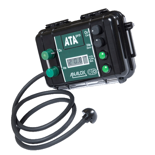 Analox ATA Pro Trimix gas analyser for technical diving