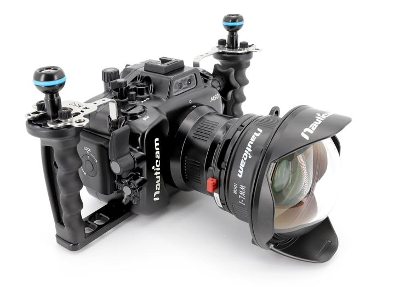 Nauticam NA-EOSM50 Housing with WWL1 for Canon EOS M50 Camera