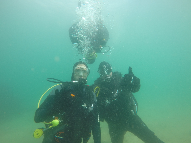 Another happy diver!